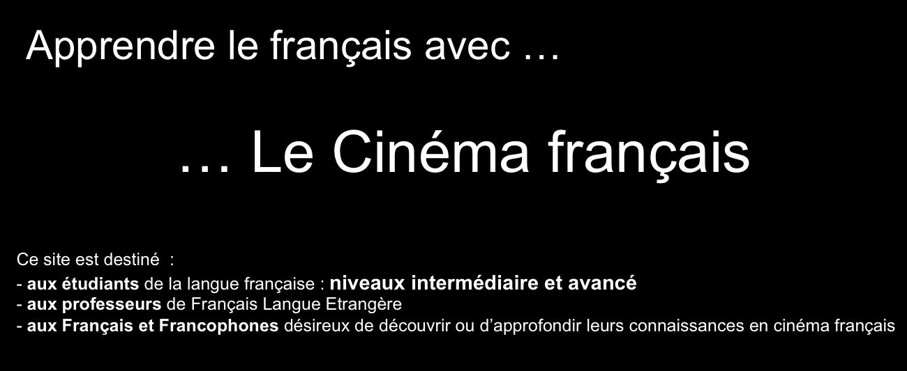 http://www.cinemafrancais-fle.com/